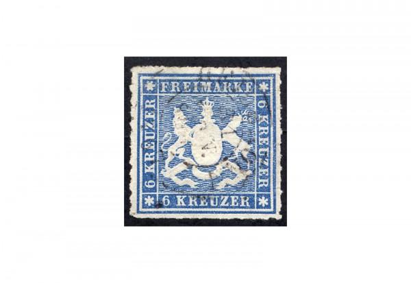 Briefmarke Altdeutschland Württemberg Freimarke 1865 Michel-Nr. 32 gestempelt