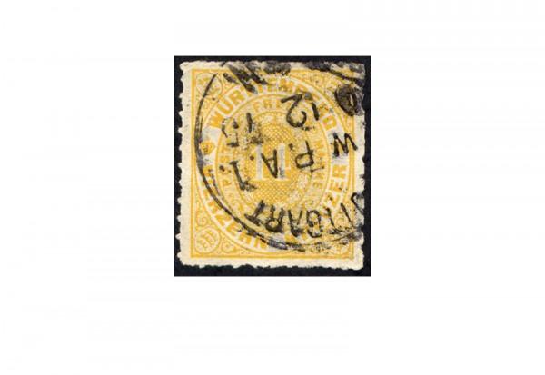 Briefmarke Altdeutschland Württemberg Freimarke 1869 Michel-Nr. 41 gestempelt