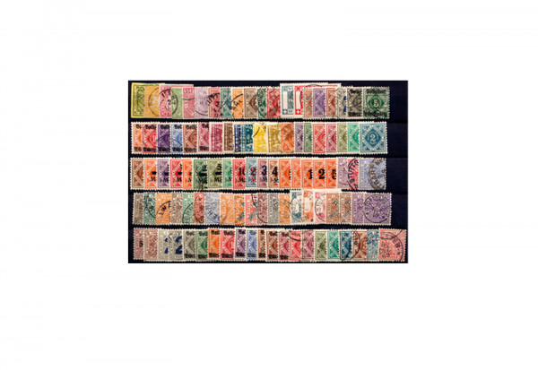 Briefmarken Württemberg 100 verschiedene Marken postfrisch und Falz