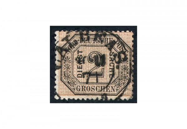 Dienstmarke Norddeutscher Bund 1870 Michel Nr. D 5 gestempelt
