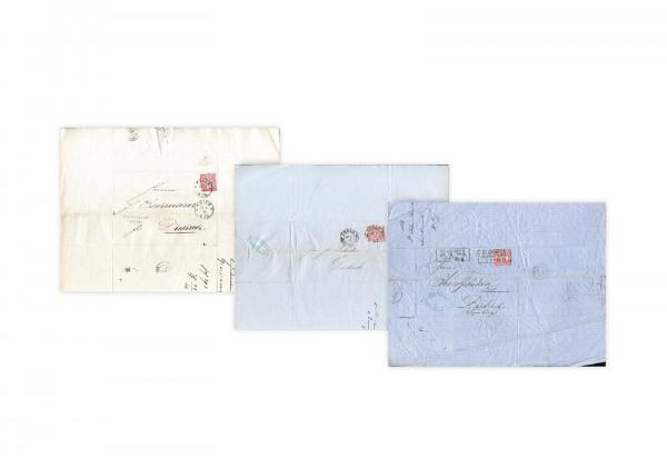 Original-Faltbrief aus dem Norddeutschen Postbezirk 1869/1871