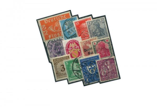 Briefmarken Deutsches Reich Top-Lot gestempelt, ungebraucht und postfrisch