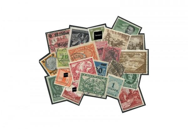 Briefmarken Deutsches Reich 1872-1945 postfrisch und gestempelt