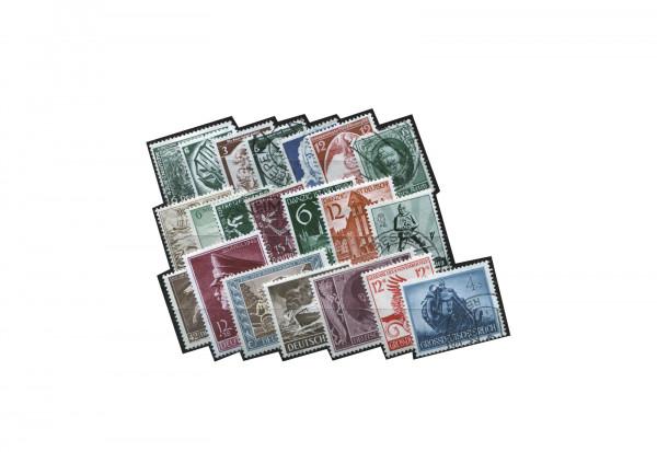 Briefmarken Deutsches Reich Zusammenstellung 1933-1945