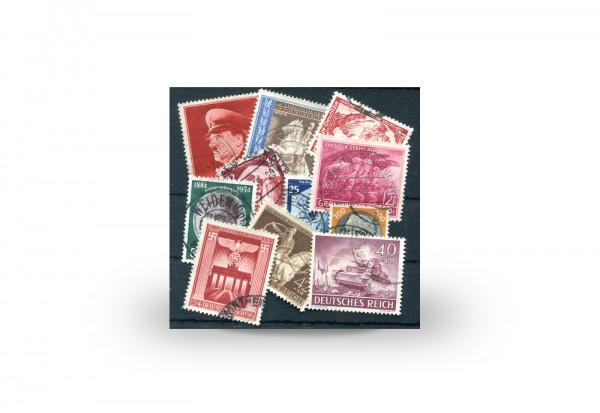 Deutsches Reich 1933 bis 1945 100 Marken postfrisch und gestempelt