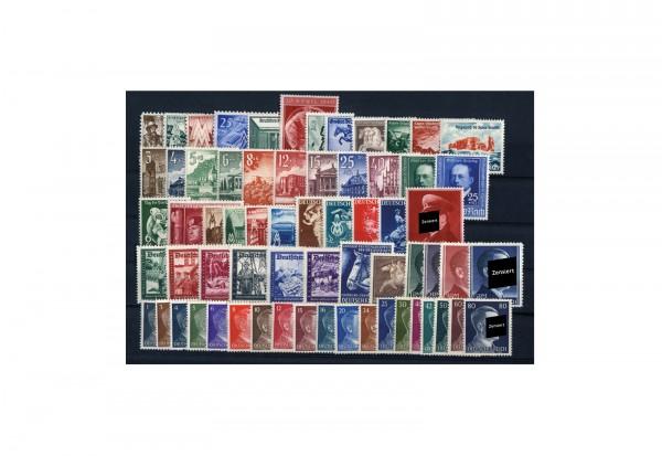 Briefmarken Drittes Reich Zusammenstellung 1940-1945 Michel-Nr. 739-910 postfrisch