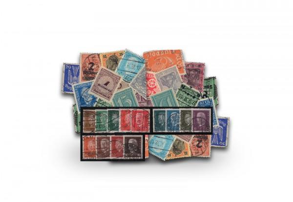 Briefmarken Sammlung Deutsches Reich inkl. Komplettsatz Reichspräsidenten 1928 Michel-Nr. 410/22 ges
