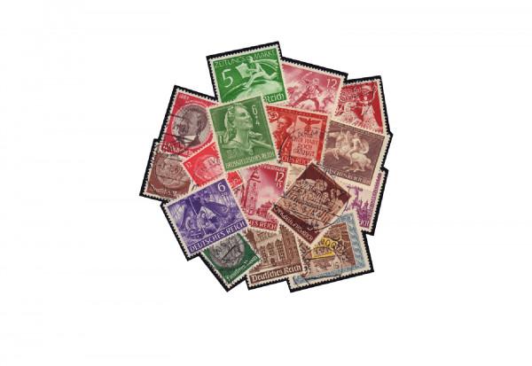 Briefmarken Sammlung Deutsches Reich 1933-1945 inkl. Block 4 1936 postfrisch