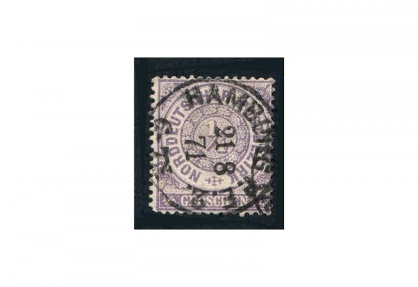 Briefmarke Altdeutschland Norddeutscher Bund Freimarke 1868 Michel Nr. 1 gestempelt