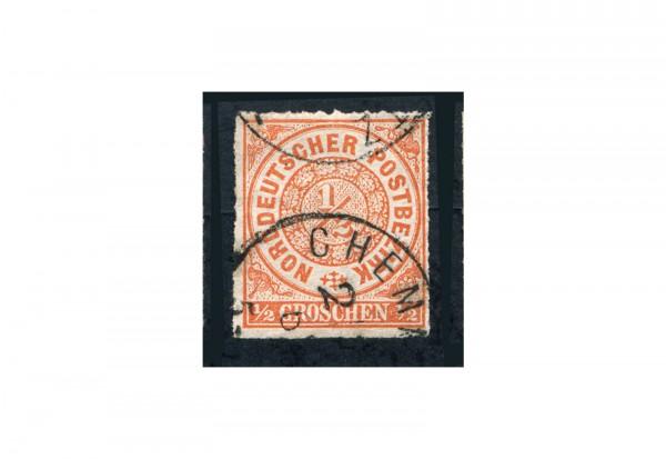 Briefmarke Altdeutschland Norddeutscher Bund Freimarke 1868 Michel-Nr. 3 gestempelt