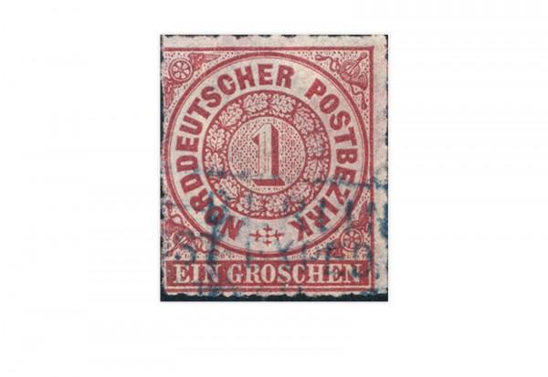 Briefmarke Altdeutschland Norddeutscher Bund Freimarke 1868 Michel-Nr. 4 gestempelt