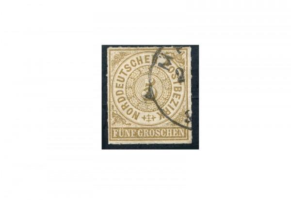 Briefmarke Norddeutscher Bund 1868 Michel Nr. 6 gestempelt
