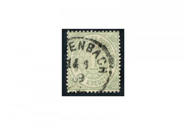 Briefmarke Norddeutscher Bund 1868 Michel Nr. 7 gestempelt