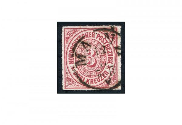 Briefmarke Altdeutschland Norddeutscher Bund Freimarke 1868 Michel-Nr. 9 gestempelt