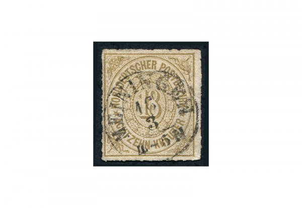 Briefmarke Altdeutschland Norddeutsche Bund Freimarke 1868 Michel-Nr. 11 gestempelt