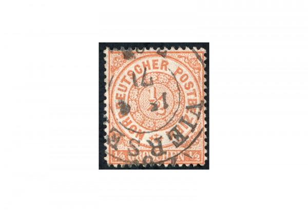 Briefmarke Altdeutschland Norddeutscher Bund Freimarke 1869 Michel-Nr. 15 gestempelt