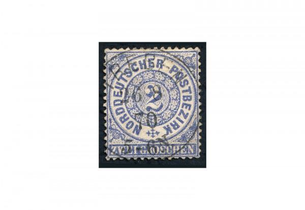 Briefmarke Altdeutschland Norddeutscher Bund Freimarke 1869 Michel-Nr. 17 gestempelt