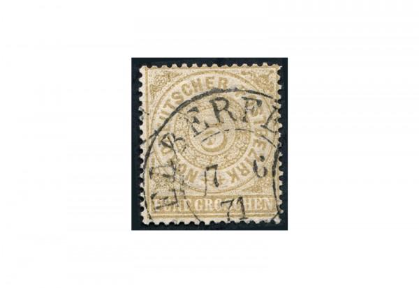 Briefmarke Altdeutschland Norddeutscher Bund Freimarke 1869 Michel-Nr. 18 gestempelt