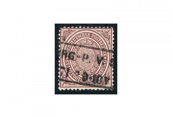 Briefmarke Norddeutscher Bund 1869 Michel Nr. 24 gestempelt