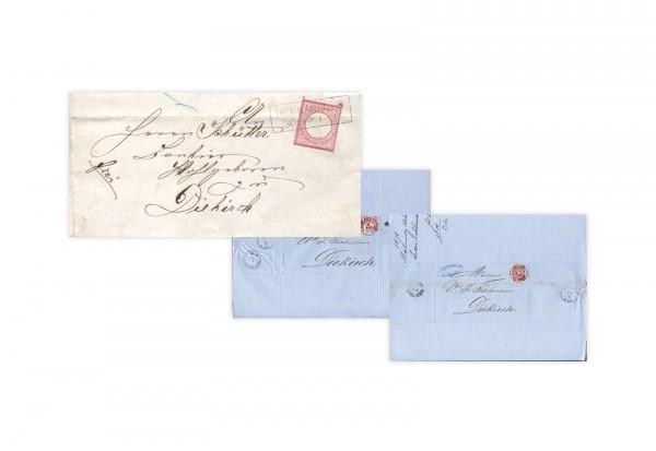 Deutsches Reich Faltbrief 1872/1879