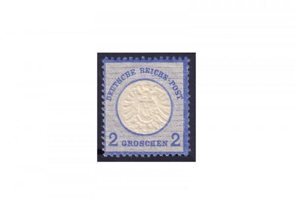 Briefmarke Deutsches Reich Adler mit großem Brustschild Michel-Nr. 20 postfrisch ungebraucht