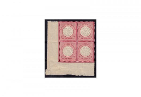 Deutsches Reich Freimarken 1872: Brustschild Michel Nr. 25 VIIIa + VIIIb postfrisch VB mit Plattenfe