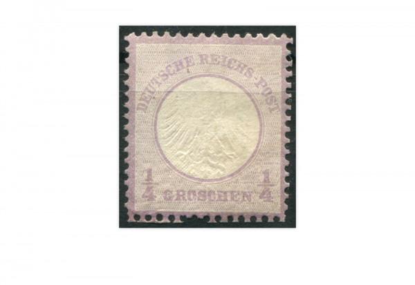 Briefmarke Deutsches Reich 1872 Michel-Nr. 1 mit Falz