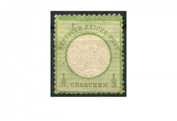 Briefmarke Deutsches Reich Brustschild 1872 Michel-Nr. 2 mit Falz