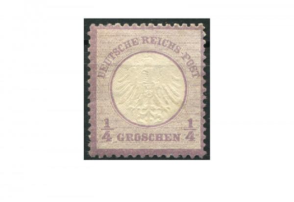 Briefmarke Deutsches Reich 1872 Michel-Nr.1 mit Falz