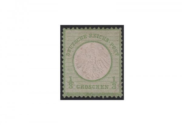 Biefmarke Deutsches Reich Brustschilde 1872 Michel-Nr. 2 ungebraucht ohne Gummierung