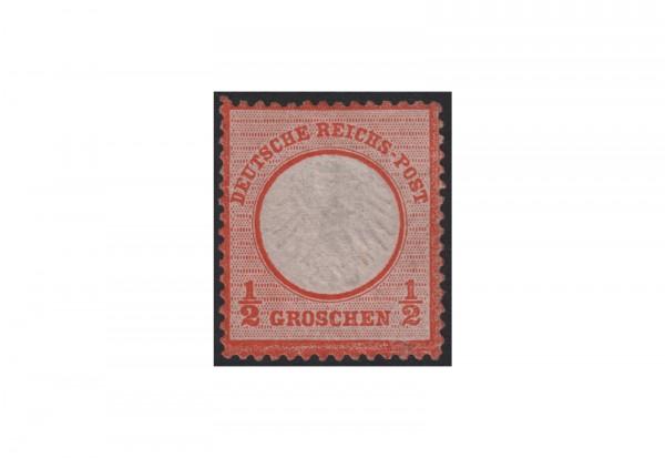 Deutsches Reich Freimarke 1872 Adler mit kleinem Brustschild Michel Nr. 3 ungebraucht