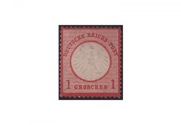 Deutsches Reich Freimarke 1872 Adler mit kleinem Brustschild Michel Nr. 4 ungebraucht