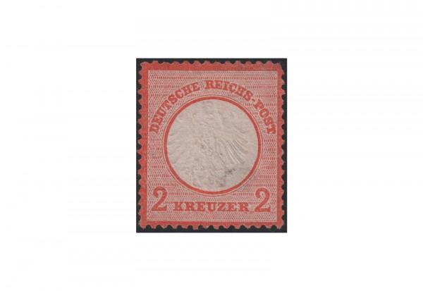 Deutsches Reich Freimarke 1872 Adler mit kleinem Brustschild Michel Nr. 8 ungebraucht