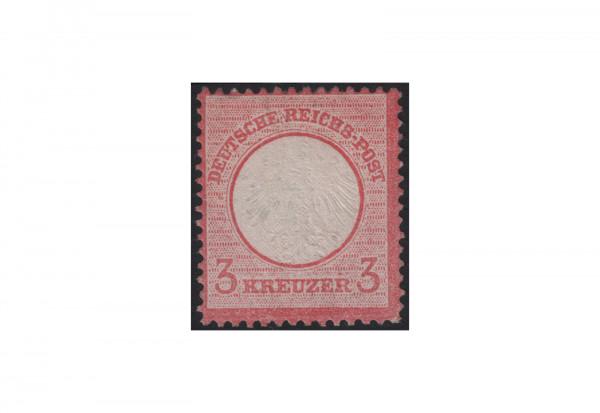 Deutsches Reich Freimarke 1872 Adler mit kleinem Brustschild Michel Nr. 9 ungebraucht