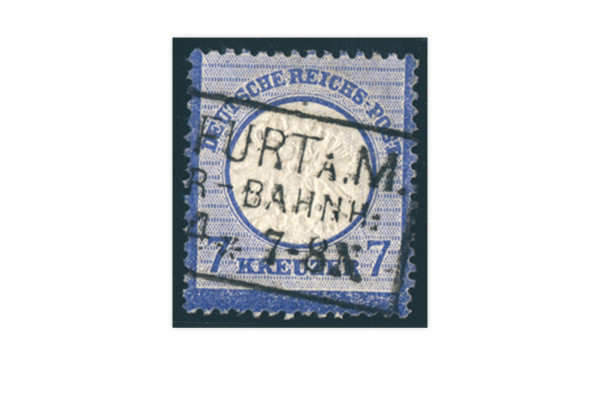 Briefmarke Deutsches Reich Brustschild 1872 Michel-Nr. 26 gestempelt