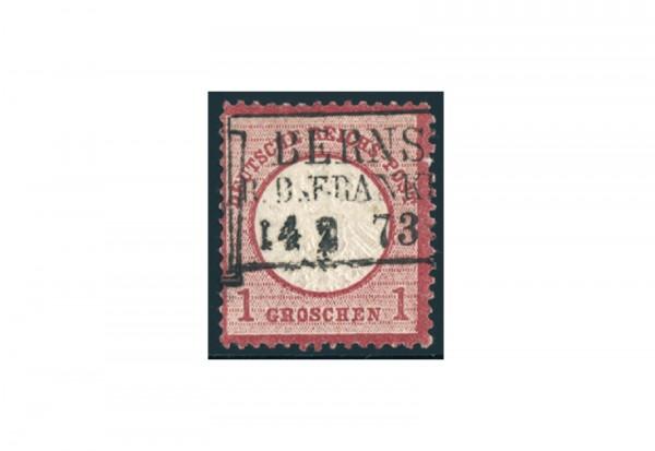 Briefmarke Deutsches Reich Brustschild 1872 Michel-Nr. 4 gestempelt