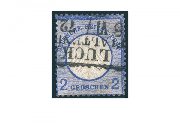 Briefmarke Deutsches Reich Brustschild 1872 Michel Nr. 5 gestempelt