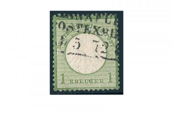 Briefmarke Deutsches Reich Brustschild 1872 Michel-Nr. 7 gestempelt
