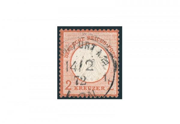 Briefmarke Deutsches Reich Brustschild 1872 Michel-Nr. 8 gestempelt