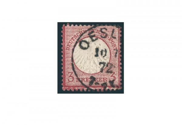 Briefmarke Deutsches Reich Brustschild 1872 Mi.Nr. 9 gestempelt