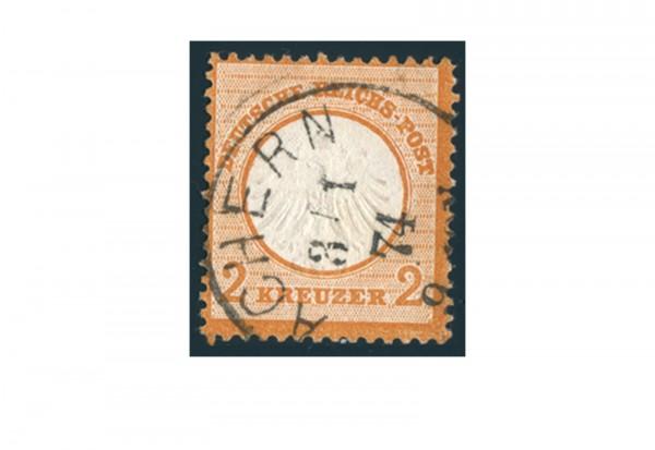 Deutsches Reich Brustschild Mi.Nr. 15 gestempelt