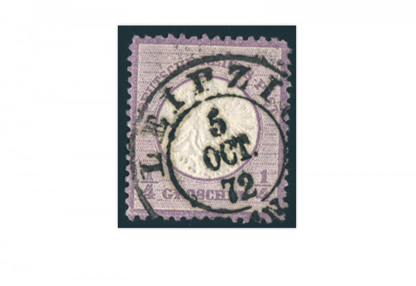 Briefmarke Deutsches Reich Brustschild 1872 Michel-Nr. 16 gestempelt