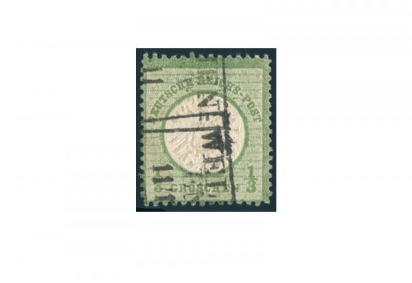 Briefmarke Deutsches Reich Brustschild 1872 Michel-Nr. 17 gestempelt