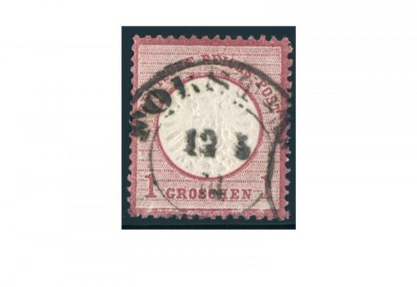 Briefmarke Deutsches Reich Brustschild 1872 Michel-Nr. 19 gestempelt