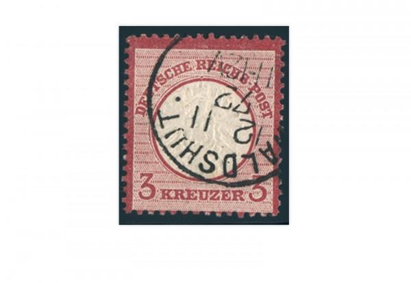 Briefmarke Deutsches Reich Brustschild 1872 Michel-Nr. 25 gestempelt