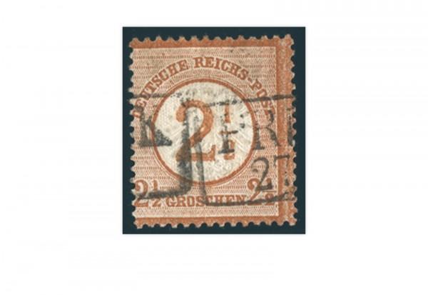Briefmarke Deutsches Reich Brustschild 1872 Michel-Nr. 29 gestempelt