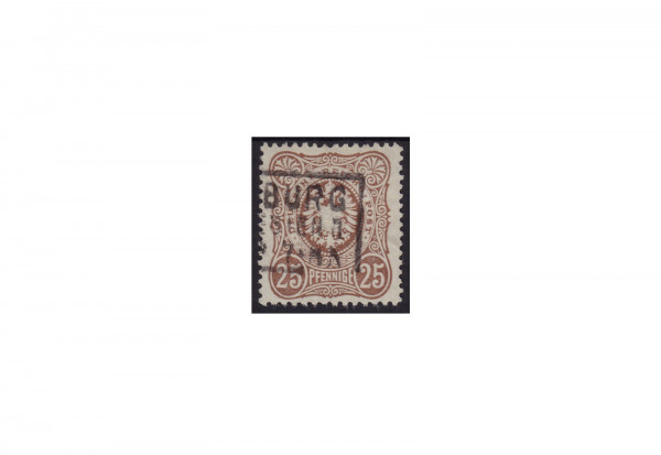 Deutsches Reich Ziffern und Reichsadler 1878 Michel Nr. 35 b gestempelt geprüft