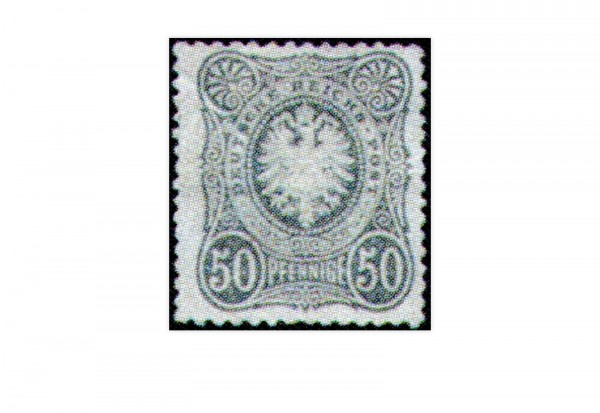 Freimarke Deutsches Kaiserreich Reichsadler 1877 Michel-Nr. 38 Falz