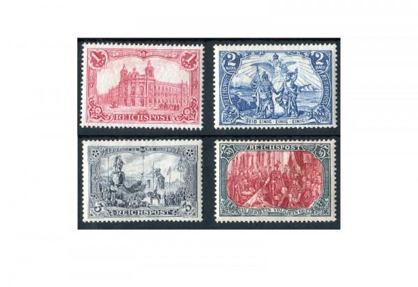 Briefmarken Deutsches Reich 1900 Michel-Nr. 63/66 Falz