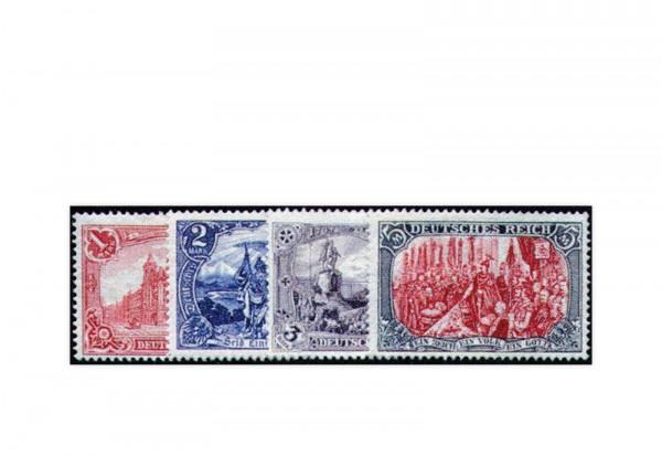 Briefmarken Deutsches Kaiserreich 1902 Michel-Nr. 78/81 Falz
